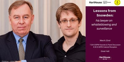 Lessons from Snowden: His Lawyer on Whistleblowing & Surveillance