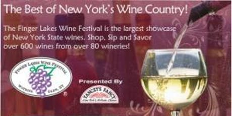 Finger Lakes Wine Festival July 13th tickets
