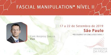 Fascial Manipulation® com Antonio Stecco -  NÍVEL II ingressos