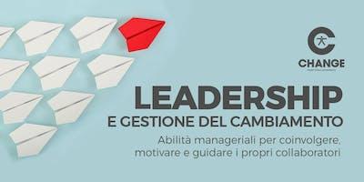 Leadership e gestione del cambiamento - II° Edizione 2019
