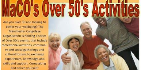 MaCO Over 50's Activities tickets
