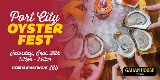 2019 Port City Oyster Festival presented by Gahan House