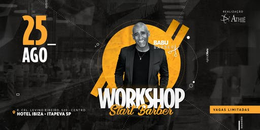 Workshop Start Barber  -  Com Babu Barber