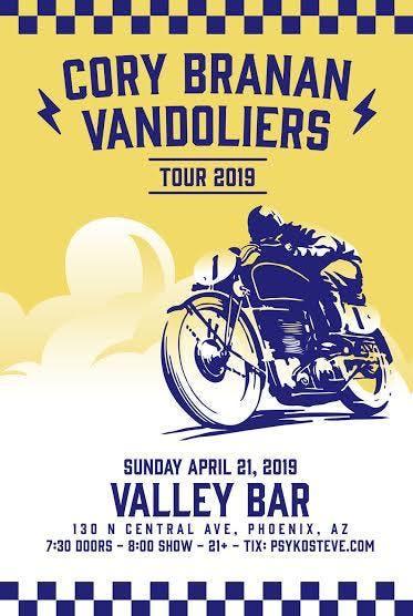 Vandoliers & Cory Branan