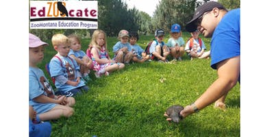 ZooVenture Camp: June 17-21, 2019 (PM) - Otters: Home Sweet Habitat