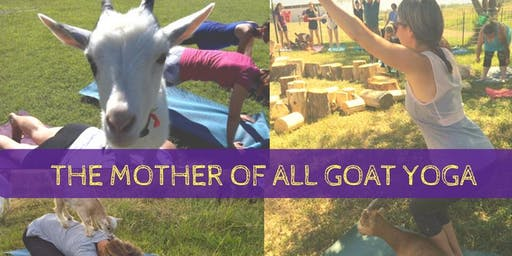 GOATS & YOGA- Saturday, July 6th