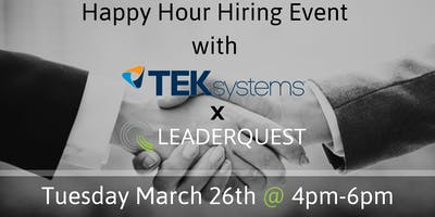 Happy Hour Hiring Event with TEKsystems