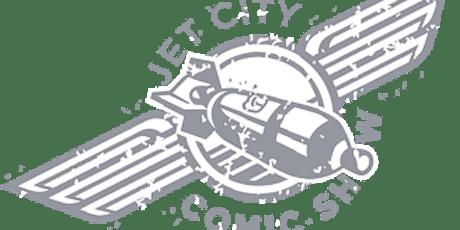 Meet Comics4Kids INC at JET CITY COMIC SHOW  Tacoma WA tickets