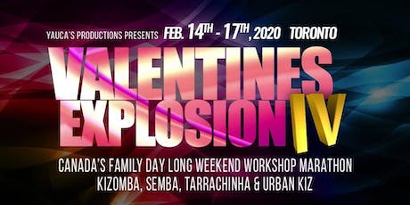 VALENTINES EXPLOSION IV - CANADIAN FAMILY DAY LONG WEEKEND DANCING MARATHON tickets
