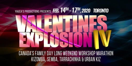 VALENTINES EXPLOSION IV - CANADIAN FAMILY DAY LONG WEEKEND DANCING MARATHON