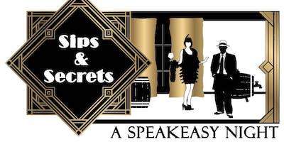 Sips & Secrets: A Speakeasy Night