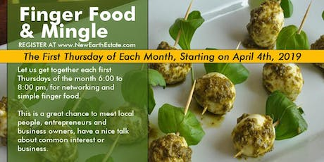 Finger Food & Mingle tickets