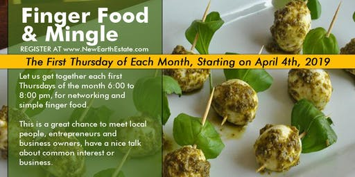 Finger Food & Mingle