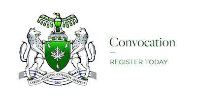 2019 Convocation Ceremony - Perth Campus