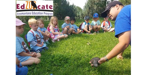 ZooVenture Camp: July 8-12, 2019 (AM) - Otters: Dinosaurs at the Zoo!