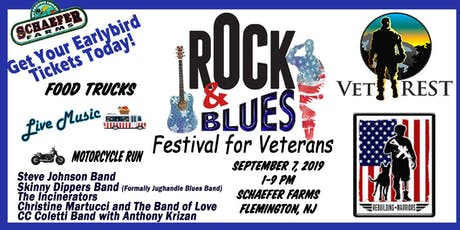 Rock and Blues Festival For Veterans at Schaefer Farms tickets