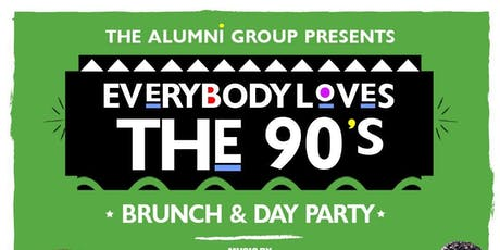 Everybody Loves The 90's Brunch & Day Party - Columbus Day Weekend Edition tickets