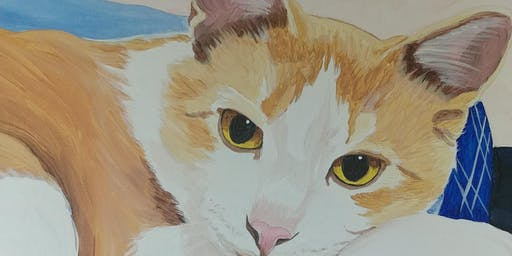 Learn To Paint A Portrait Of Your Pet