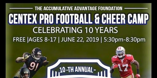 10TH ANNUAL CENTEX FOOTBALL & CHEER CAMP