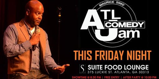 Suite Lounge Comedy Night