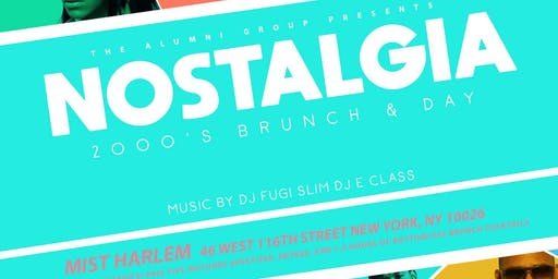 Nostalgia: The 2000's Brunch & Day Party