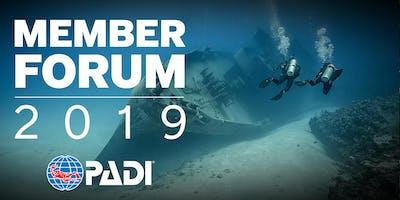2019 PADI Member Forum - London, Ontario, Canada