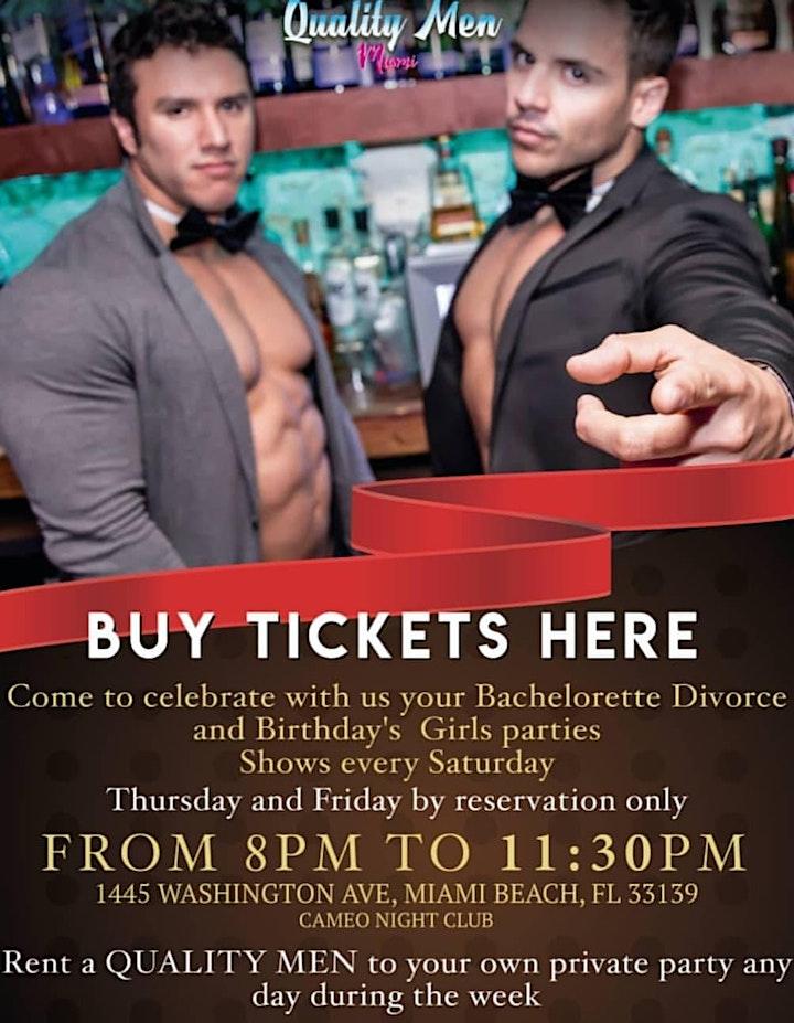 Bachelorette Miami - Male Dancers Miami - Bachelorette Party Deal image