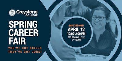 Greystone College Spring 2019 Career Fair