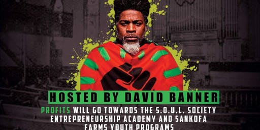 (Postponed) We Are The Gold hosted by David Banner