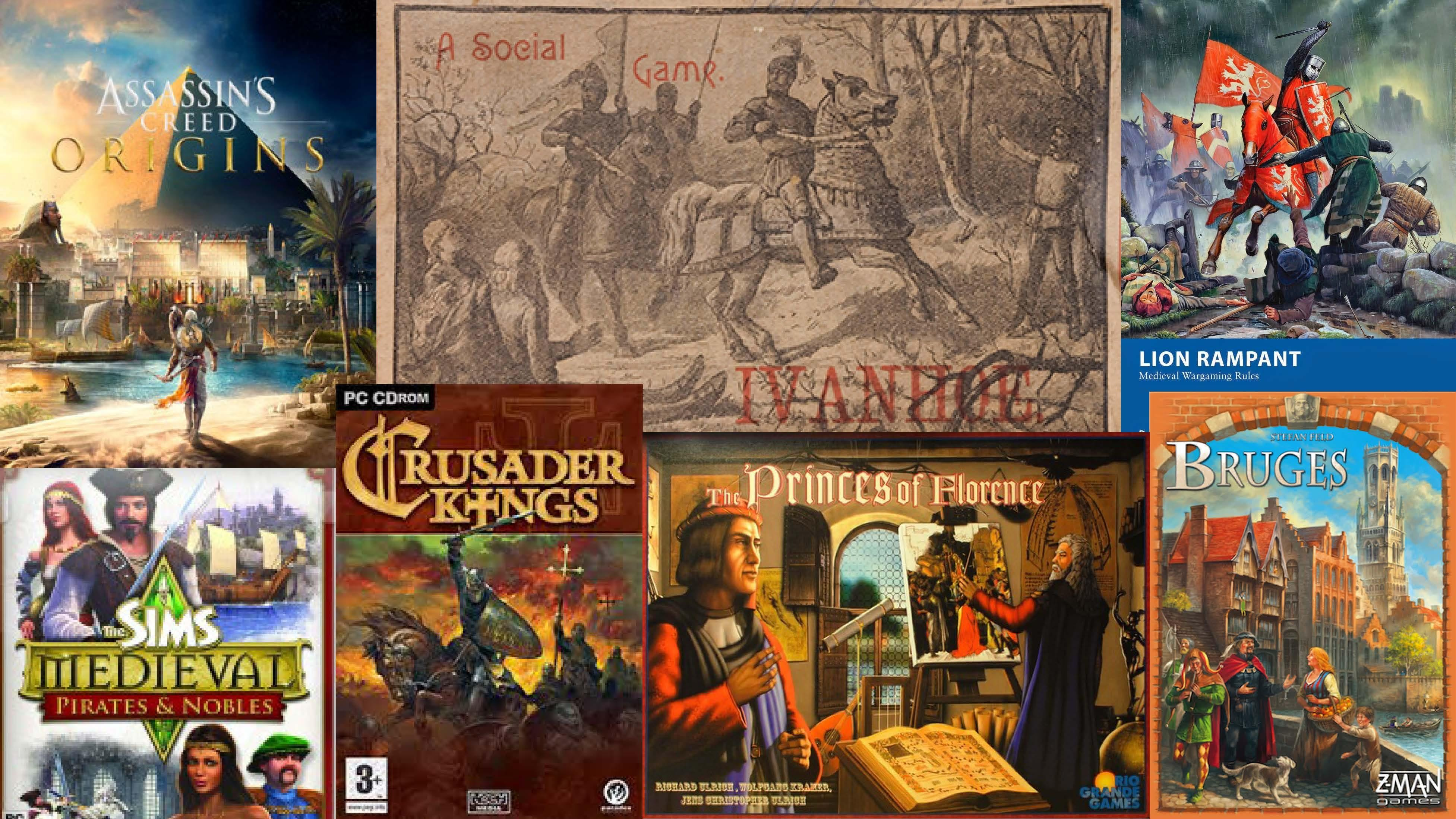 History, Medievalism, and the Games Industry