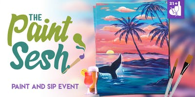 """Paint and Sip in Riverside, CA – """"Sunset Greeter"""""""