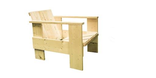 Make It Take It: Gerrit Rietveld Crate Chair