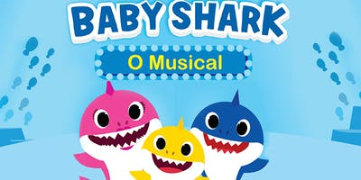 50% de Desconto! Espetáculo musical Baby Shark no Teatro Dr. Botica