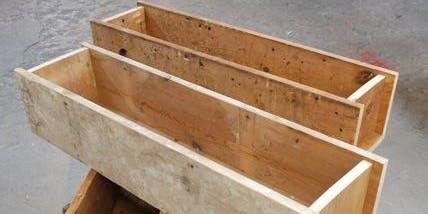 Make It Take It Class- Planter Box