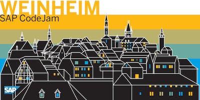 SAP CodeJam Weinheim