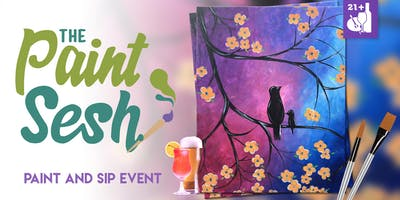 """Mother's Day paint and sip in Riverside – """"Birds of a Feather"""""""