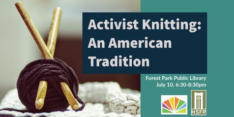 Activist Knitting: An American Tradition tickets