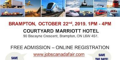 Brampton Transportation Job Fair – October 22nd, 2019