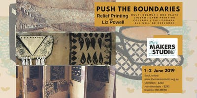 Push the Boundaries Relief Printing with Liz Powell