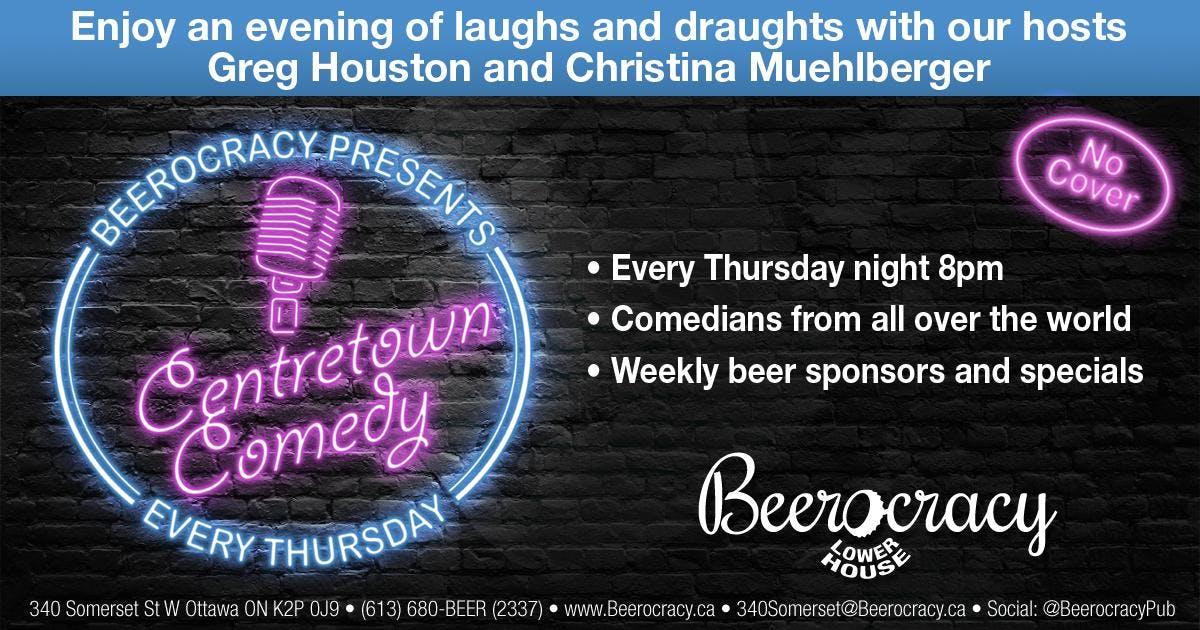 Centertown Comedy @ Beerocracy