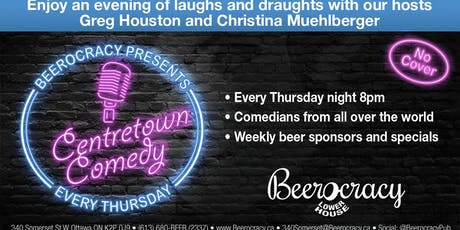 Centertown Comedy @ Beerocracy tickets