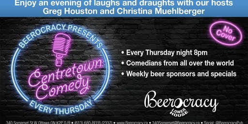 Centertown Comedy @ Beerocracy