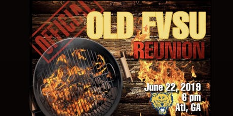 "The OFFICIAL ""Old FVSU"" Reunion Cookout Party tickets"