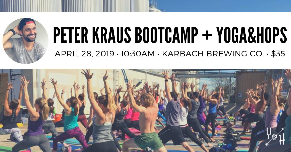 Peter Kraus Bootcamp + Yoga&Hops