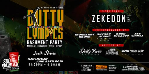 Dutty Lympics Bashment Party