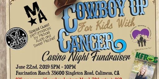 Cowboy Up For Kids With Cancer Casino Night Fundraiser