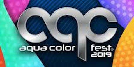 Aqua Color Fest 2019 boletos