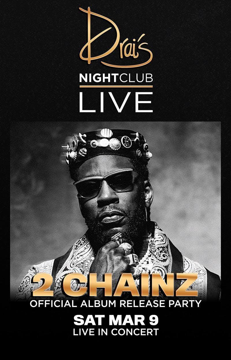 2 CHAINZ LIVE - Drais Nightclub - #1 Vegas Hi