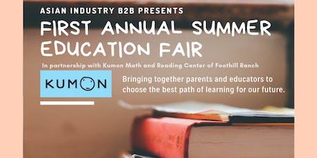 AIB2B Presents 1st Annual Summer Education Fair tickets