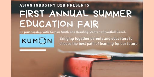 AIB2B Presents 1st Annual Summer Education Fair